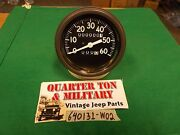 Jeep Willys Mb Gpw Early Long Needle Speedometer