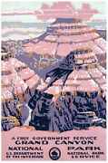 Grand Canyon Park Travel Poster.home Wall.house Vintage Room Decor.415i