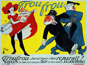 French Decoration Poster.sexy Trou Frou.room Home Art.wall Interior Decor.859i