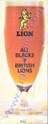 British Lions 1971 Itinerary Rugby Tour Lion Beer Nz