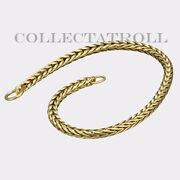 Authentic Troll Bead 14k Gold Bracelet With No Lock 7.1