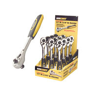 Maxcraft 1/4 And 3/8 Dual Drive Ratchet 72 Tooth Fully Polished Professional