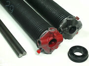 Garage Door Torsion Springs Pair .243 X 2 Id X Select Length - With Options