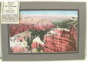 Bryce And Jenney Lake Photos C1910 Sweet Candy Co Of Salt Lake City - 2 Premiums