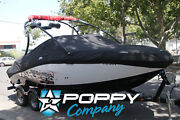 2010 Challenger Wake 210 Seadoo Sport Boat Cover New Black Fitted Trailerable