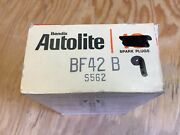 Nos New Old Stock Ford Autolite Mercury Spark Plugs X9 Bf42 B S562