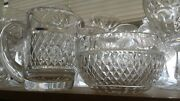 Waterford Crystal Giftware Creamer And Open Sugar Bowl Set
