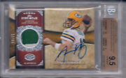 Aaron Rodgers 2011 Topps Five Star Veteran Autographed Patch 20/70 Bgs 9.5/au 10