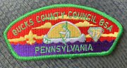Mint Csp Bucks County Council Pa S-11 75th Anniversary 1985 Green Bdr 45 Value