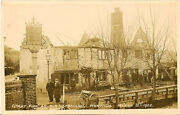 Norwich Norfolk Great Fire At Old Lakenham March 31st 1908 Rp-pioneer Series