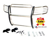 1999-2004 Jeep Grand Cherokee Grille Grill Brush Guard In Stainless Steel