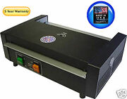 Tlc 6000t Pouch Laminator Machine With Thermometer 9-13/16 And 5 Year Usa Warranty