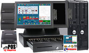 Two Stations Restaurant Pos Bar Pizza Complete System Amigo Software New
