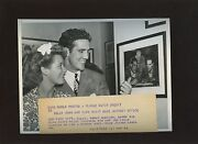 Original July 8 1941 Billy Conn And Wife Visit Mike Jacobs Boxing Wire Photo