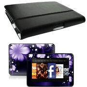 Genuine Leather Case Cover For Kindle Fire Hd 7 Inch + Skin Accessory B02