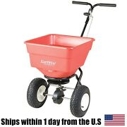 Earthway 2170 Commercial Broadcast Spreader Andndash 100lb Square Poly Hopper