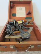 Maritime, Navigational, Heath And Co. Sextant