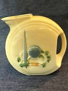 1939 New York Worldand039s Fair Porcelier Small Pitcher Very Fine Collectible