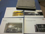 2008 Audi R8 R 8 Owners Manual Owner's Set New Nos Navigation Rns-e