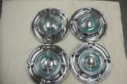 1958 Oldsmobile Hubcaps Wheel Covers 14 1958 Oldsmobile Hubcaps Oe58wc