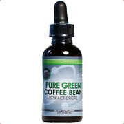 Pure Green Coffee Bean Extract Weight Loss Drops 2 Ounces