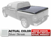Hard Tonneau Cover Styled Truck Lid Painted Silver For Toyota Tacoma 63 Bed