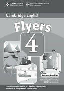 Cambridge Young Learners English Tests Flyers 4 Answer Booklet Examination Pape