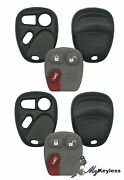 Brand New Gm Replacement Keyless Entry Remote Key Fob Repair Shell Case Pair