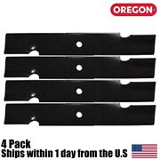 4pk Oregon 91-620 Lawn Mower Blades For Wright 32 Stander 71440002