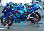 Injection Fairing W8 With Tank Seat Cowl Kit Fit Gsxr1300 Hayabusa 2008-2019 44