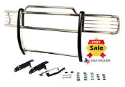 2005-2015 Toyota Tacoma Chrome Push Bar Bumper Grill Guard In Stainless Steel