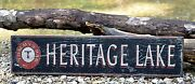 Personalized Lake And Bar Name - Rustic Hand Made Vintage Wood Sign