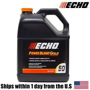 Echo One Gallon Bottles 2 Cycle Engine Oil Mix Extended Life Power Blend 6450050