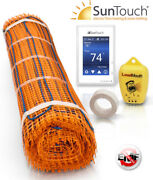 Suntouch Radiant Floor Heating Mat 24 Kits 120 Volt With Tape Made In The Usa
