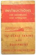 American Flyer 1947 Instruction Booklet 48 Page Planning And Operating Your Layout