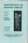 Parke Bernet Masterpieces Modern Jewelry Nadja Buckley Design Auction Catalog 55