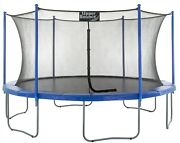7.5ft 10ft 12ft 14ft 16ft Large Trampoline And Enclosure Net   Garden And Outdoor