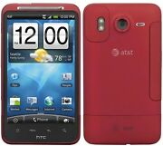 Red Atandt Htc Inspire Gsm 4g 4.3 Touch Screen Smart Phone 8mp 720p Hd Video Wifi