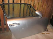 Porsche 993 Coupe Right Pass. Side Door Silver Complete W. Glass And Door Card