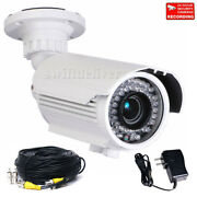 700tvl Sony Effio Ccd Zoom Lens Security Camera Ir Outdoor With Power Cable A81