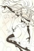 Immortelle Studios Pin Up Babe - Signed Original Art By Billy Tucci