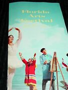 Florida Arts Festival Brochure 1960 Art Shows Exhibitions, Musical And Theater