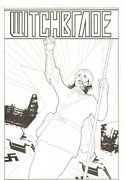 Witchblade Annual 1 Cover - Soviet Russian Theme - 2010 Signed By Tom Feister