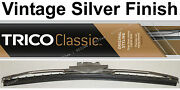 Classic Wiper Blade 12 - Antique Vintage Styling - Silver Finish - Trico 33-122