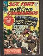 Sgt Fury And His Howling Commandos 7 Kirby Cvr 1964 6.5 Wh