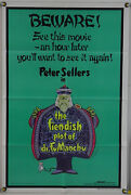 The Fiendish Plot Of Dr. Fu Manchu Ff Orig 1sh Movie Poster Peter Sellers 1980