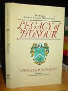 Legacy Of Honour The Panets Canada's Foremost Military Family 1740 To Wwii