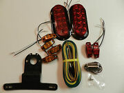 Trailer Led Light Kit, Optronics Stop Turn Tail, Markers, Harness, Utility, Boat