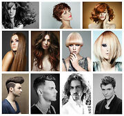 Hairdresser Barber Hair Salon Hairstyle Giant Poster Selectable Laminate Option