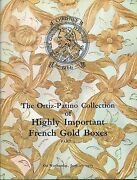 Christieandrsquos French Gold Boxes Ortiz-patino Collection Set 2 Auction Catalog 1973